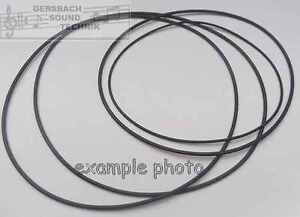2 Stück Rubber drive belts Antriebsriemen, Rundriemen 1,5 mm d2 x d2 mm