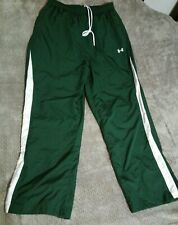 UNDER ARMOUR Nylon Running Pants Green Men's Size XL