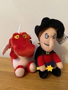 """Room On The Broom 6"""" Tall Witch & Dragon *** New With Tags ***"""