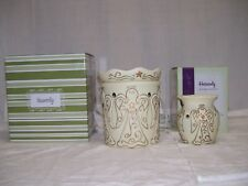 """Scentsy CHRISTMAS Warmer """"Heavenly"""" Angels Full Size AND Plug-In Retired SET 2"""