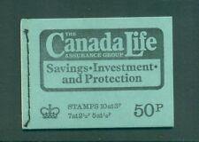 Great Britain 50p Canada Life April 1973  DT10