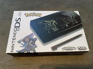 Nintendo DS Lite Black Pokemon Diamond Pearl Version Brand New Mint