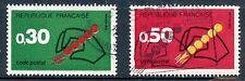 STAMP / TIMBRE FRANCE OBLITERE N° 1719/1720 CODE POSTAL