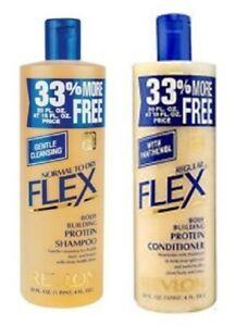 Original Revlon Flex Normal To Dry Shampoo & Regular Conditioner- 592 ml / 20 oz