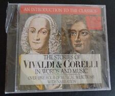THE STORIES OF VIVALDI & CORELLI In Words And Music CD With Narration 1993 New