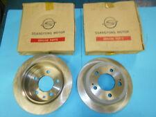 Pair Brake Discs Rear Orig X Ssangyong Kyron Action Rexton 4840109001 G043348
