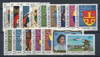 Luxembourg 1980 Neuf ** 100% Peinture, Stemmi, Plane, Henry et Maria Theresa