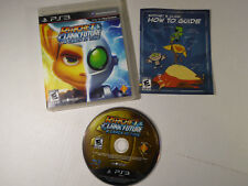 Ratchet & Clank Future: A Crack in Time (Sony PS 3, 2009) Game Case & Manual