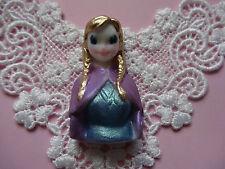 Anna Frozen Disney  silicone mold fondant cake decorating wax soap food FDA