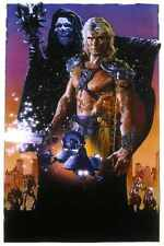 Masters Of Universe Poster 03 Letrero De Metal A4 12x8 Aluminio