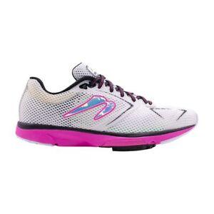 Newton Distance S 9 Women's Running Shoes White/Fuschia 9.5