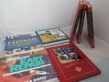 VTG Home Improvement Repair Handyman Books Lot of 7 Reader's Digest Encyclopedia