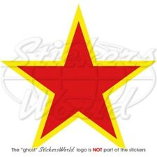 RUSSIA Russian Air Force USSR Soviet Type2 Red Star Roundel 100mm Sticker Decal