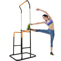 Power Tower Dip Adjustable Pull Up Bar Exercise Home Gym Strength Training