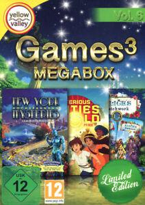Games 3 PC Mega Box Vol. 6 (NEU)
