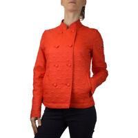 Armani Jeans Giubbino Giacca tg.42 Donna Col. Arancione |Occasione -41% |