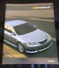 2004 Mazda 6 Series Original Dealer Sales Brochure
