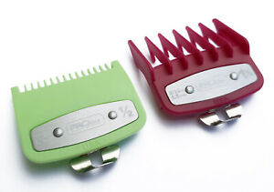 Attachment Comb With Metal Fitting Cutting Guide for Wahl Clippers Lime Green Pl