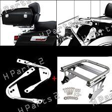 Tour Pak Pack Mounting Docking Hardware Kit&Luggage Rack for Harley 97-08
