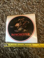 Winchester Ammunition Firearms Logo Decal Round Mount Sticker 2020 Shot Show