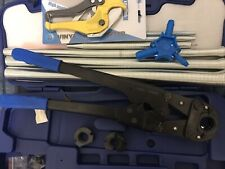 Pressatrice manuale raccordi tubo multistrato Pex th 16 20 26 Kit Molle 2020 soa
