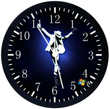 Michael Jackson Black Frame Wall Clock Nice For Decor or Gifts X38