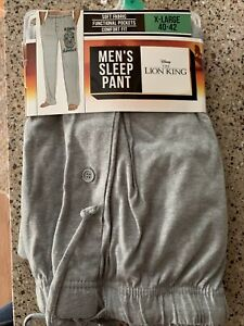 Lion King Pajama Lounge PJ Pants Mens Size XL NWT