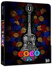Coco (Blu-Ray 3D + Blu-Ray Disc + Disco Bonus - SteelBook) (Pixar)