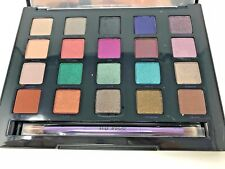 URBAN DECAY VICE 4 PALETTE 20 COLOR EYESHADOW W/BRUSH + MAKEUP BAG!