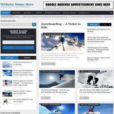 Negozio di sport invernali-business online sito web per la vendita + Dominio + Hosting
