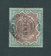 INDIA - LOTTO DI 4 FRANCOBOLLI - 3r. e 5r. REGINA VITTORIA ( YV.50/51.) -