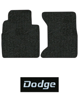 1989-1993 Dodge D350 Floor Mats - 2pc - Cutpile