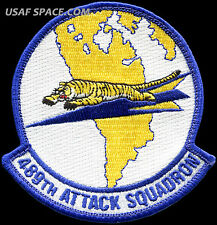 USAF 489th ATTACK SQUADRON - MQ-1 Predator- MQ-9 Reaper DRONES - ORIGINAL PATCH