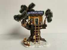 Village Collectibles Tree House No Grownups Allowed