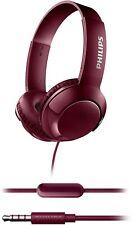 Philips Bass+ SHL3075 Auriculares con micrófono Plegables, Ligeros y Elegantes