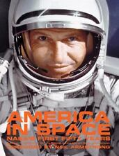 America in Space : NASA's First Fifty Years by Dick, Moore; HC; folio