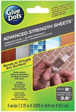 Glue Dots Advanced Strength Double Sided Sheets Permanent Bond 5pk