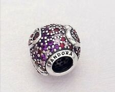 Authentic Pandora S925 Asymmetric Hearts of Love CZ Bead 797826CZRMX