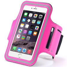 Pink Running Sports GYM Armband Pouch for iPhone 7 / LG Tribute HD /LG K3 X Skin