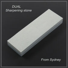 Double Sided Knife Blade Sharpener Wet Oil Stone Whetsone Grit Water