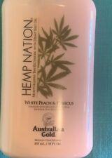Hemp Nation Australian Gold White Peach & Hibiscus, 18oz Auth New Sealed Must