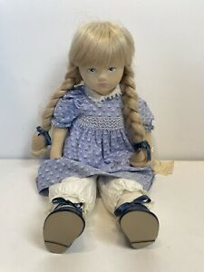 pauline's limited edition Cloth Floral Dress doll lucy 22 In.