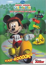 Disney Mickey Mouse Coloring Book ~ VAH-ROOOOM! - FREE SHIPPING