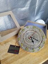 HANDCRAFTED SANCHALI WOMEN (INDIA) ECO FRIENDLY RECYCLED MATERIALS WALL CLOCK