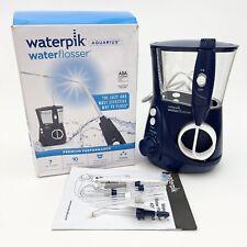 GENTLY USED Waterpik Water Flosser Oral Irrigator Aquarius, WP-660 Blue *READ*