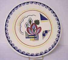 Holland Maastricht Handpainted Deco Arts & Crafts Large Plate