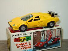 Lamborghini Countach LP500 - Diapet Yonezawa Toys G-66 Japan 1:43 in Box *34795