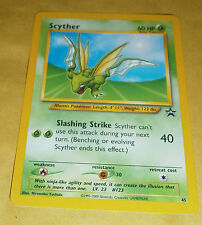 POKEMON BLACK STAR PROMO CARD - #45 SCYTHER