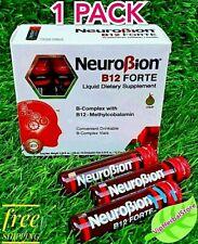 NEUROBION B12 FORTE COMPLEX B 10 DRINKABLE VIALS AMPOLLETAS BEBIBLES COMPLEJO B