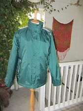 Regatta Hooded Men's Jacket Waterproof Breathable New Green Size 36.